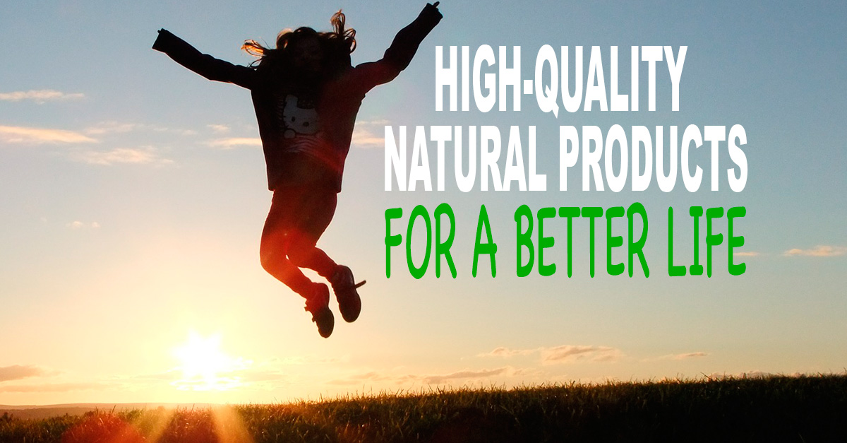 Natural Products for a better Life