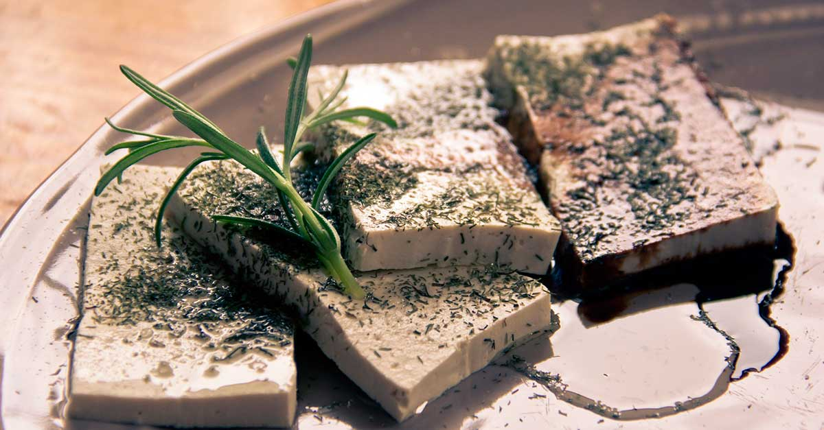 High natural protein food Tofu